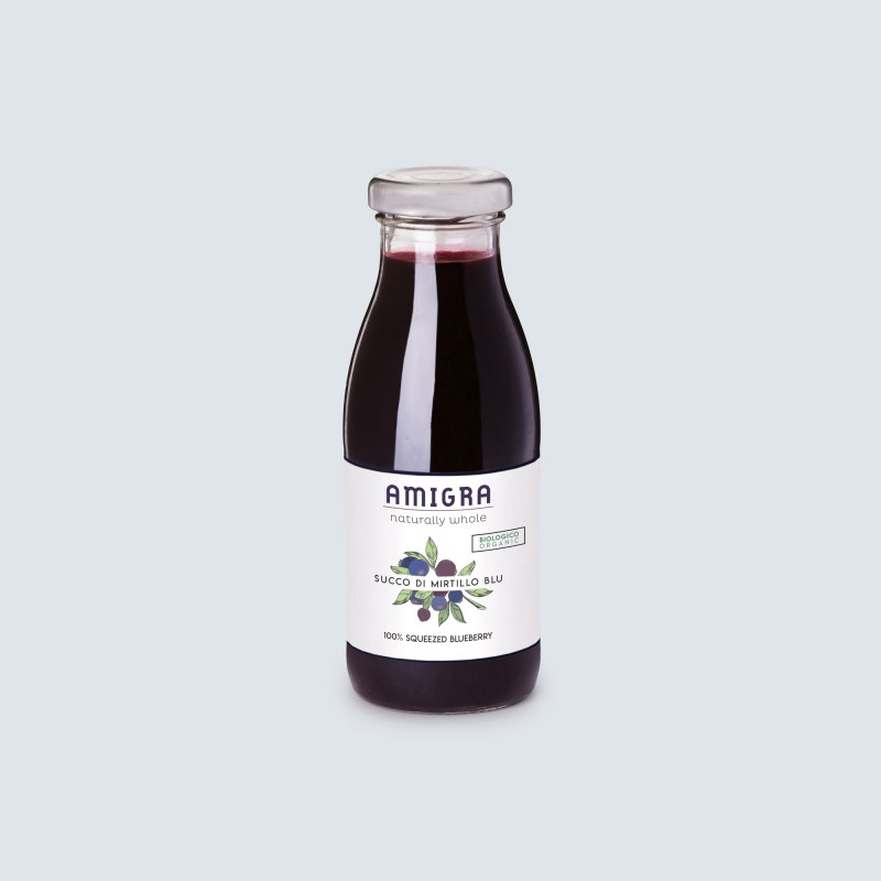 100% Blueberry Organic Juice 250ml