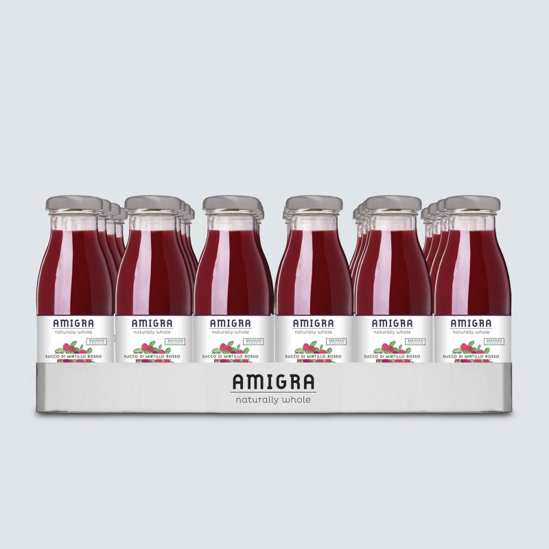 100% Cranberry Organic Juice 250ml - 24pcs