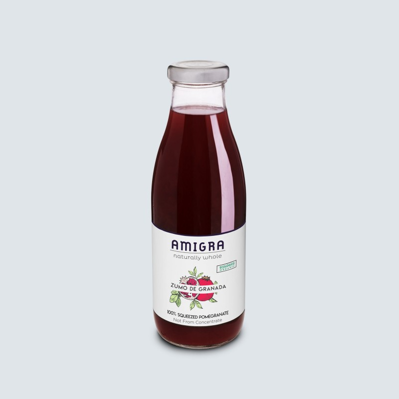 100% Pomegranate Organic Juice 750ml