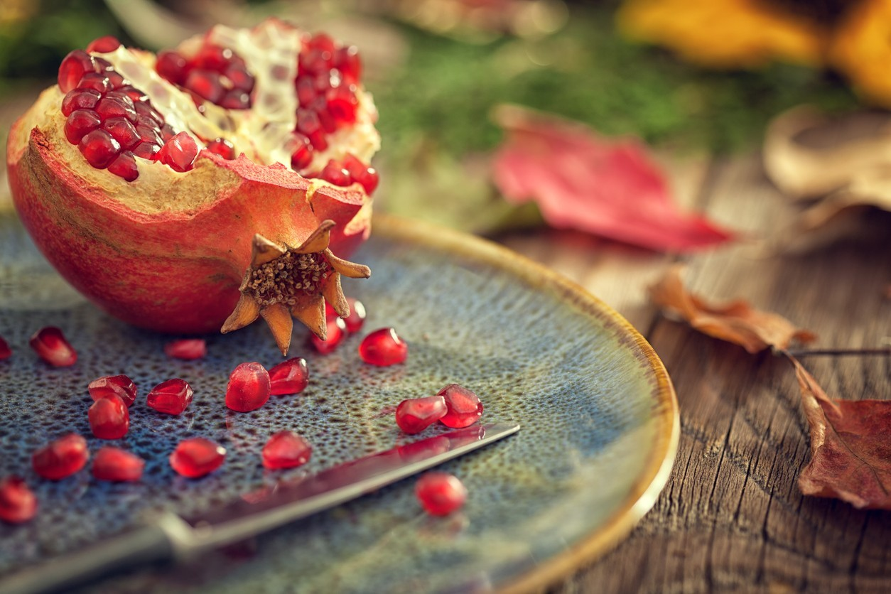Pomegranate, the Autumn's Gold