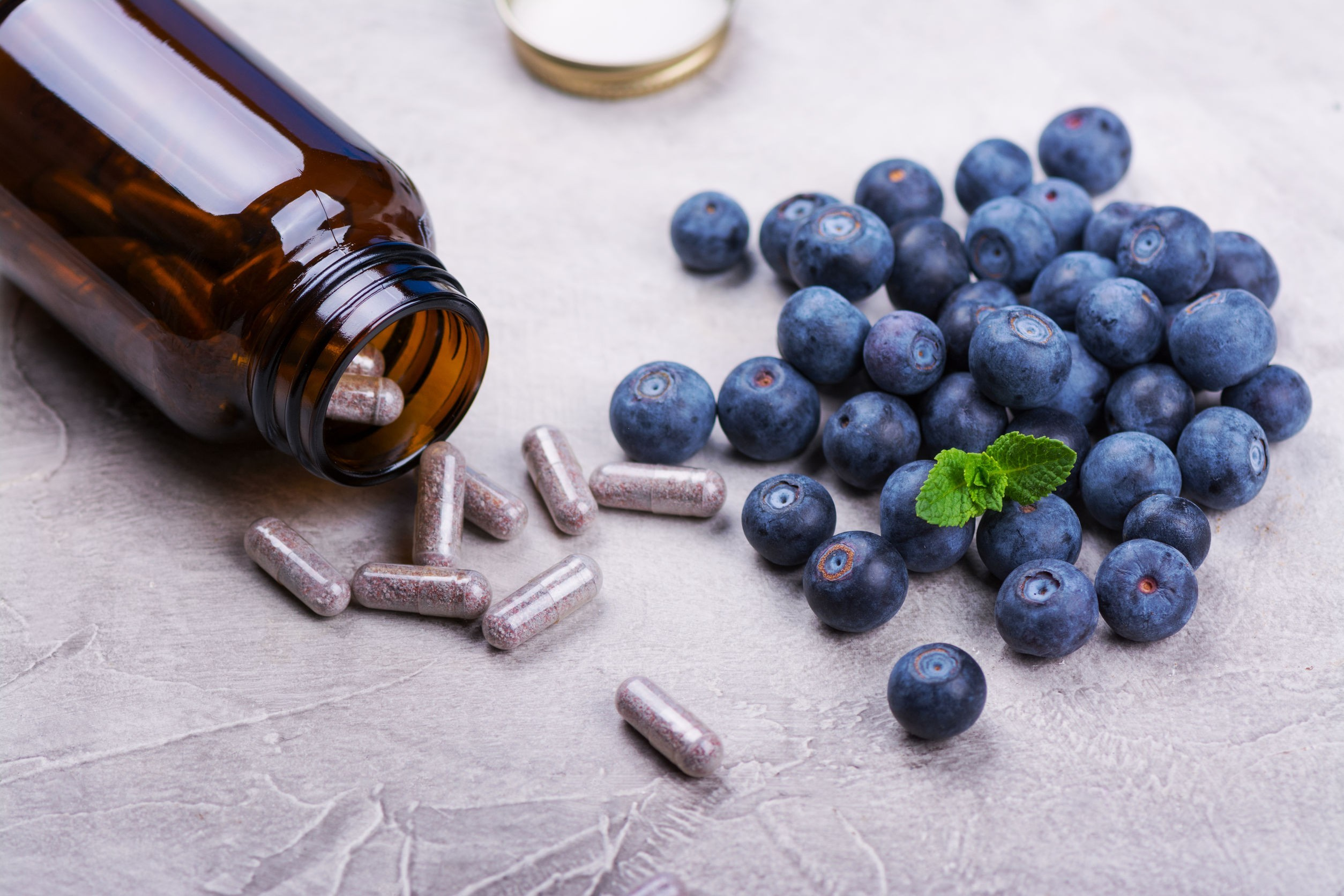 Better blueberries or supplements?